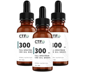 Full Spectrum CBD Oil Drops 300mg 3-Pack